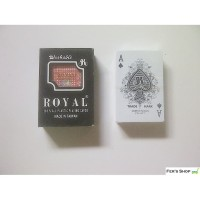 KARTU REMI PLASTIK ROYAL / KARTU POKER / KARTU REMI ANTI AIR