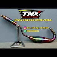 Knalpot Kawasaki Ninja 2 Tak Stainless Pelangi TNX Racing