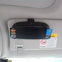 Tempat Kacamata Etoll Car Visor Glasses Card Holder Import