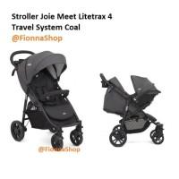 Stroller Joie Meet Litetrax 4 Travel System Coal / Kereta Dorong Bayi