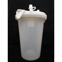 Set Botol Plastik dan Tutup Suction Pump Thomas 1632 GL