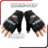 Glove ProBiker MCS-04F Half - Sarung Tangan Pro Biker Motor - Gloves