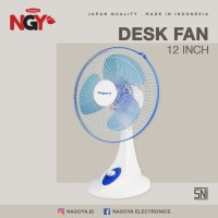 Kipas Angin Meja / Duduk NAGOYA (Desk Fan) 12in - NG12DF