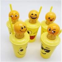 A96 Gelas Smile Emoji Botol MinumTumbler Emoticon Spring Doll Goya