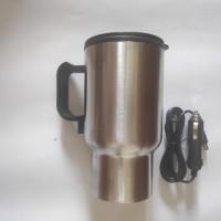 Teko/Mug Listrik Pemanas Air Minum di Mobil/Car Mug Water Heater