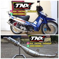 Knalpot Standar Racing Fiz R Stainless TNX Racing Product not ahm cld