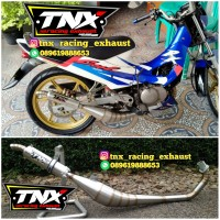 Knalpot Rk Cool Kolong Samping Stinless TNX Racing not ahm cld