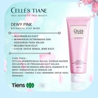 MERK MASKER WAJAH UNTUK IBU HAMIL   Celles Tiane Dewy Pink Tiens ASLI