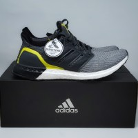 Adidas Ultraboost 4.0 Grey Boost Black Yellow BNIB ORIGINAL BASF BOOST
