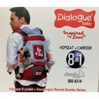 DIALOGUE HIPSEAT CARRIER 8IN1 DUMBO SERIES DGG 4314 / GENDONGAN RANSEL
