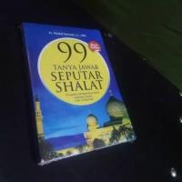 Buku 99 tanya jawab seputar shalat karangan ustadz Abdul Somad