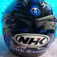 helm NHK full face double visor