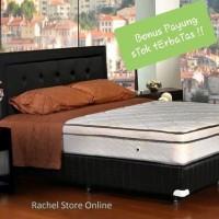 Elite Spring Bed Supreme Plush Top 160 - Full Set