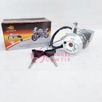 kunci kontak set motor mio j paket depan belakang jok merk moto