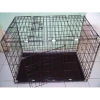 Kandang Besi Lipat Kotak Besar DAYANG 03 Kucing Anjing Kelinci Burung