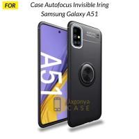 Case Samsung Galaxy A51 Autofocus Invisible Iring Soft Case