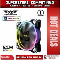Armaggeddon Neuron Ring IV RGB Fan For Gaming PC Case (120mm)