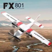 RC pesawat FX801 Airplane Cessna 182 Fixed Wing Foam Glider RTF 2.4GHz