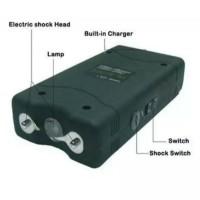 Stun gunAlat Setrum Kejut Listrik Senter Self Defensive flashlight