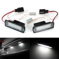 *In stock*Aksesoris Mobil: Plat Nomor Lisensi dengan Lampu LED untuk