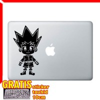 Decal Sticker Hunter x Hunter Gon Macbook Pro and Air