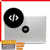 Decal Sticker programmer icon Macbook Pro & Air