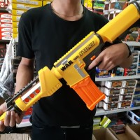 Mainan Anak Laki Laki Tembakan Senjata Nerf Soft Bullet X Gun Blaster