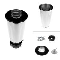 5 Cup Stainless Steel Blender Jar Set Flip Top Lid Extractor Blade 2