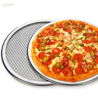 Panci Pizza Anti Lengket dengan Lubang Bulat