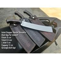 Chopper Knife Kode GS-12 Golok Kompetisi