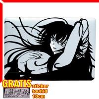 Decal Sticker Erotic Anime Girl Macbook Pro and Air