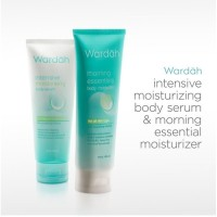 Wardah Intensive Mousturising Body Serum 100ml original
