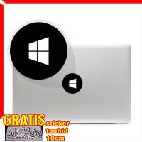 Decal Sticker windows icon Macbook Pro & Air