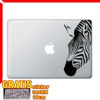 Decal Sticker Zebra Macbook Pro and Air