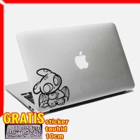 Decal Sticker Toothless 05 Macbook Pro And Air