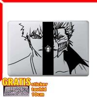 Decal Sticker Ichigo vs Grimmjow Bleach Macbook Pro Air