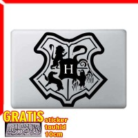 Decal Sticker Harry Potter Hogwarts Crest Macbook Pro Air