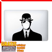 Decal Sticker The Son Of Man Painting Macbook Pro & Air