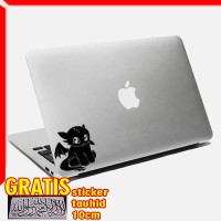 Decal Sticker Toothless 04 Macbook Pro And Air