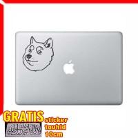 Decal Sticker Shiba Inu Macbook Pro & Air