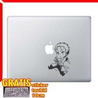 Decal Sticker One Piece Mini Zoro Macbook Pro and Air