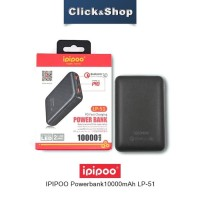 Ipipoo Powerbank Fast Charging 10.000 MAH
