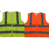Rompi Safety Nankai Murah Resleting Orange dan Hijau