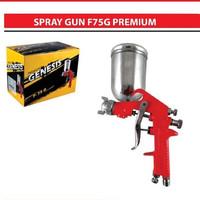 Genesis Semprotan Cat Tabung Atas F75G Premium Air Spray Gun