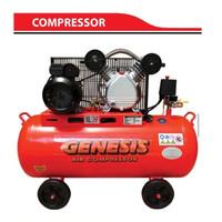 kompresor angin 100 liter 10 bar 2 Hp GENESIS