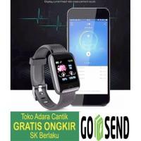 TensiMeter Digital Smart Watch Detak Jantung Pedometer Tensi Meter