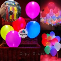 Balon Latex LED / Glowing Balon / Balon Glow In The Dark