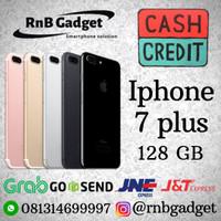 new IPHONE 7 plus 128gb ori garansi distributor 1 tahun cash dan kredi
