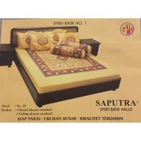 Saputra Sprei Batik 180x200 Full Katun Motif 30 / Seprai No 1