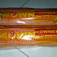 Bulu kuas roll cat merk OWNER 9 .